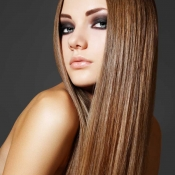 Womens-long-beautiful-straight-brown-hair